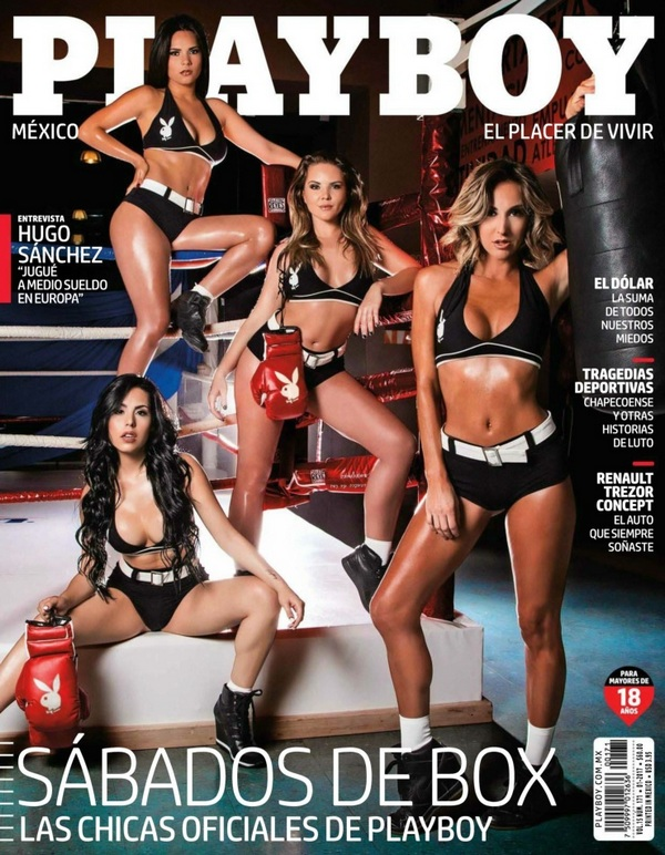 Playboy Mexico - January 2017 (PDF, 144 Pages)