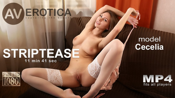 [avErotica] Cecelia - Striptease