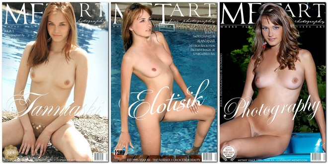 [MetArt Network] Julia I, Mariara, Wayna - Photo & Video Pack 2003-2016