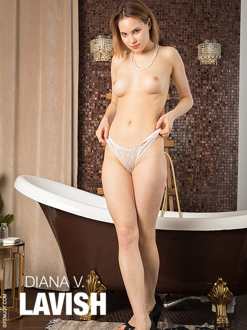 [FemJoy] Diana V - Lavish jav av image download