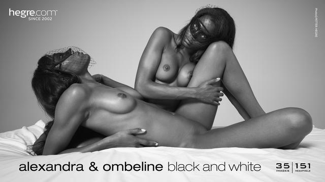 [Art] Alexandra, Ombeline Black And White art 07080