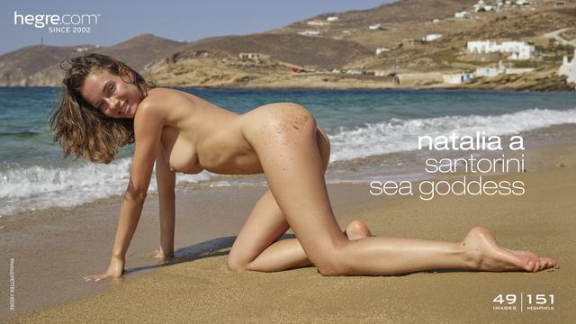 [Art] Natalia A - Santorini Sea Goddess - Girlsdelta