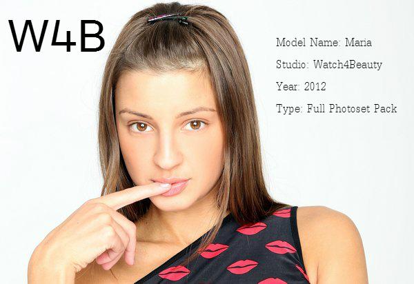 Watch4Beauty Maria - Full Photoset Pack 2012
